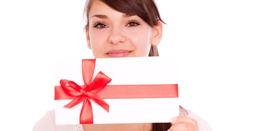 Physio gift voucher